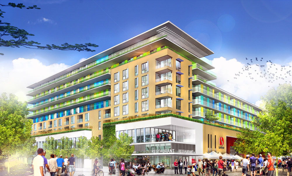 Photo of Arbutus Centre Housing Project