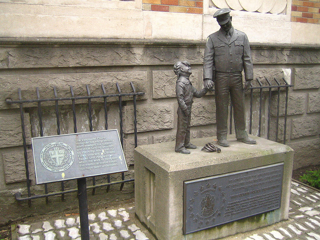 Statue in the Vancouver Police Museum. Photo by Rick.