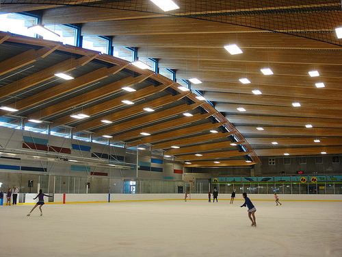Olympics ice Rink. Photo by Jack.