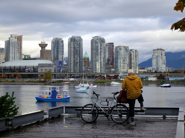 Photo of False Creek by Ruth Hartnup