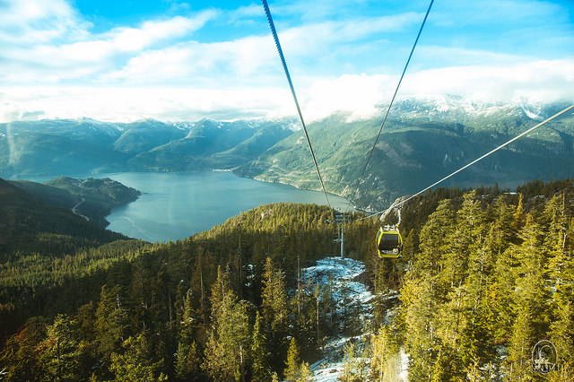 Photo of the Sea-to-Sky Gondola by Sam Zhao on Flickr: https://flic.kr/p/qxqX79