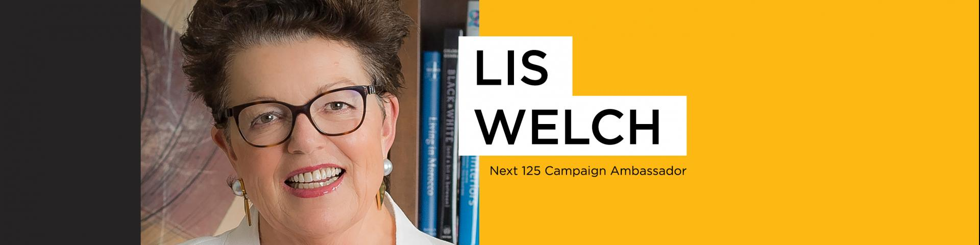 The Next 125 Ambassador, Lis Welch