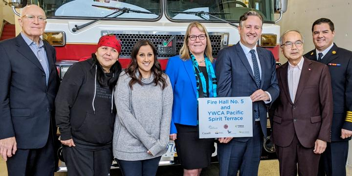 Grand Opening: YWCA Pacific Spirit Terrace and Fire Hall No. 5