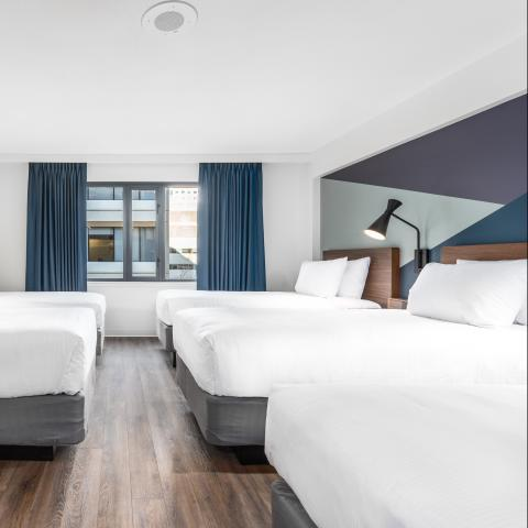Five Single Rooms - YWCA Hotel Vancouver
