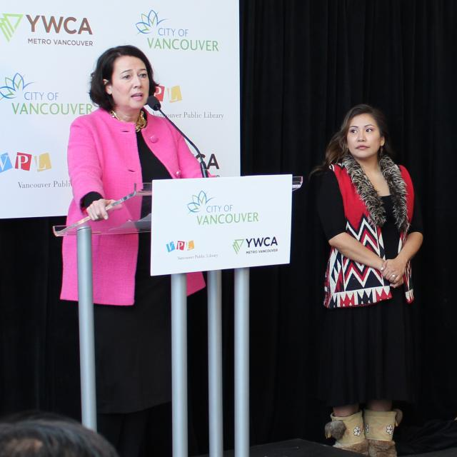 Grand Opening: YWCA Cause We Care House and VPL nə́c̓aʔmat ct Strathcona branch